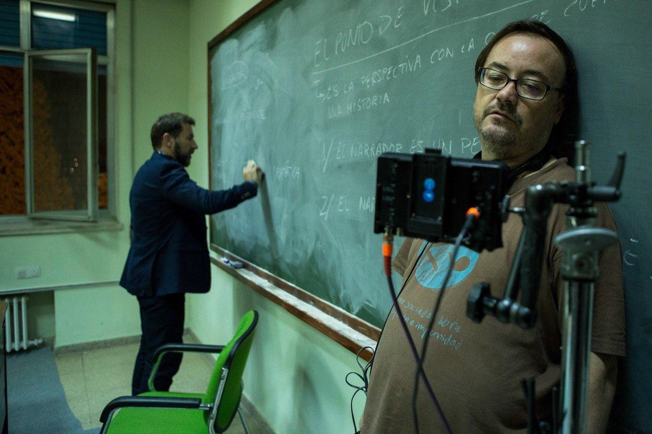 Manuel Martín director del film