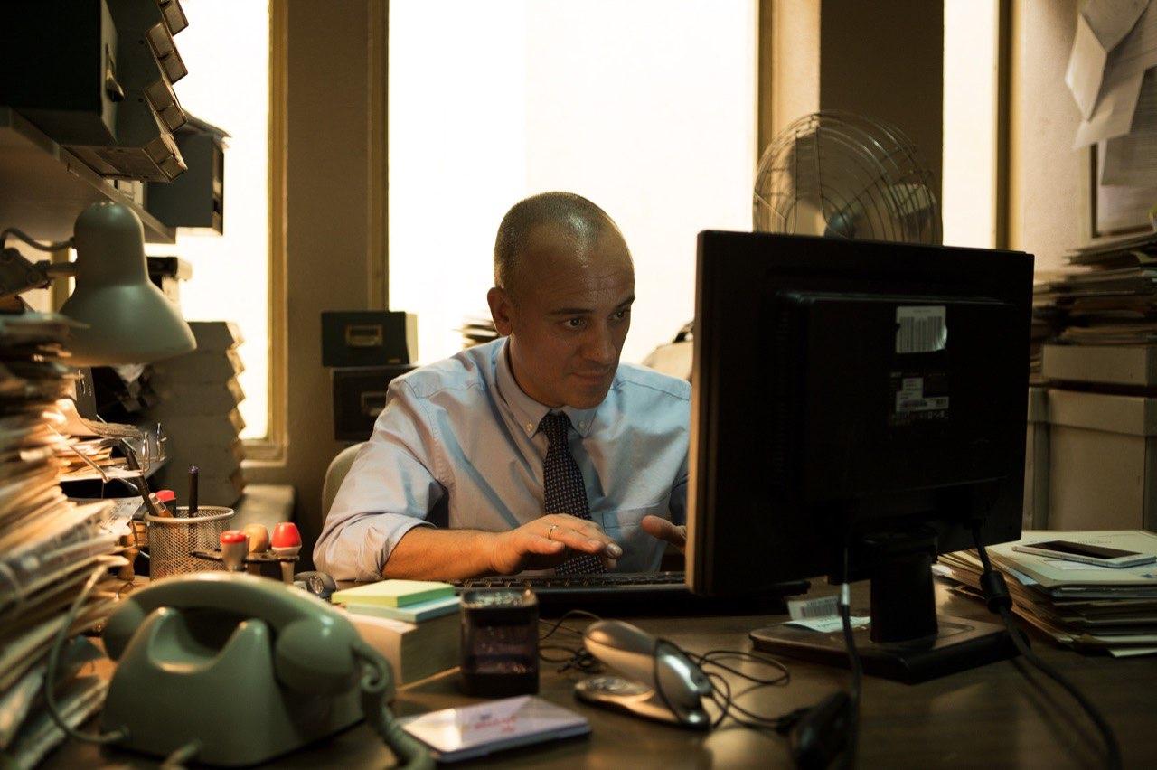 Javier Gutierrez protagonista del film