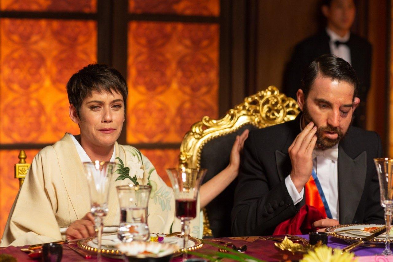 Dani Rovira y María León, actores del film 'Los Japón'