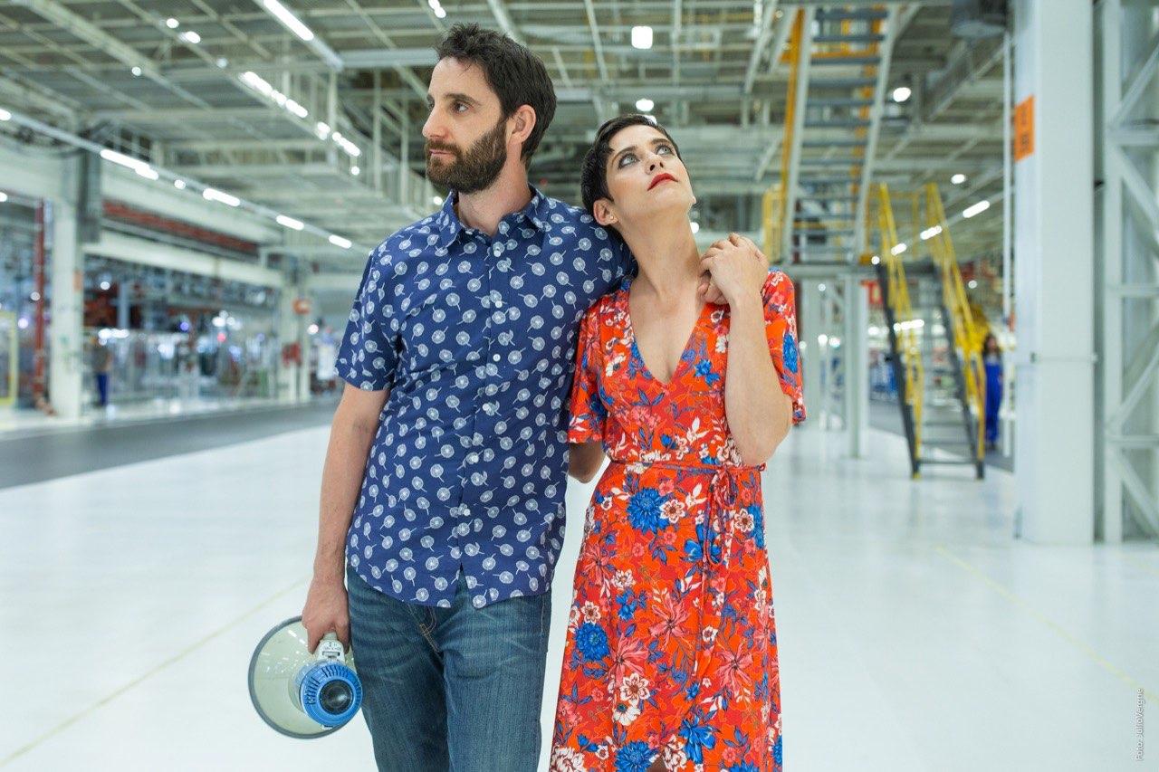 Dani Rovira y María León, actores del film
