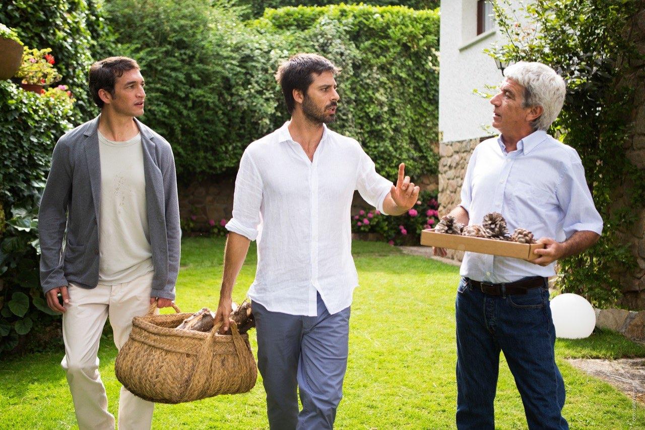 Hugo Silva y Oscar Ladoire