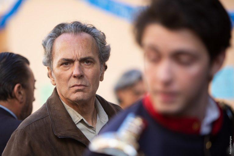 José Coronado durante del rodaje