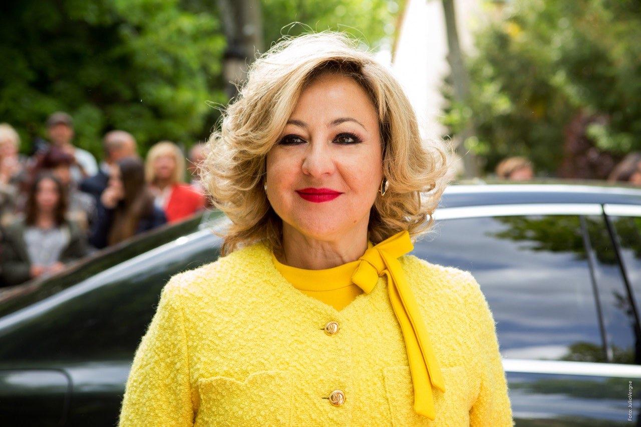 Carmen Machi protagonista del film. Villaviciosa de al lado